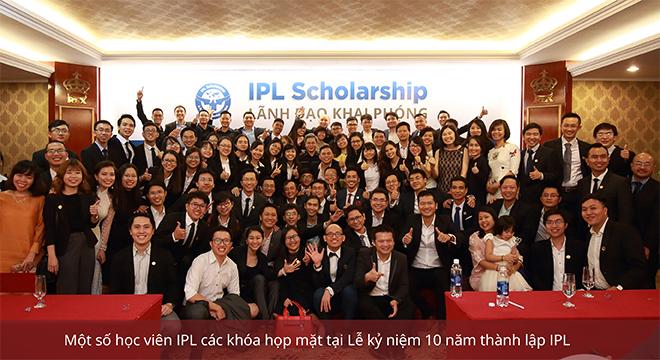 """Học bổng IPL - """"ngôi trường khai phóng"""" dành cho lãnh đạo trẻ"""
