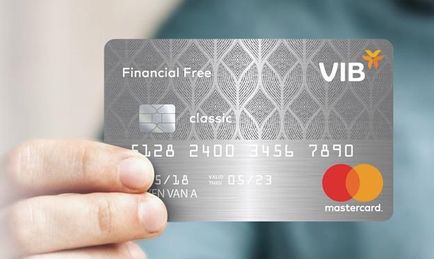 Thẻ tín dụng VIB Financial Free: Miễn phí trọn đời, miễn lãi