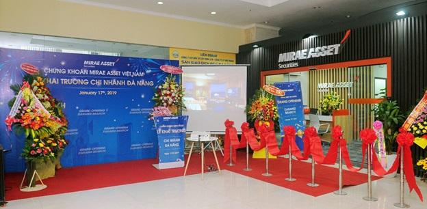 Khai trương chi nhánh Đà Nẵng – Mirae Asset Hàn Quốc khẳng định quyết tâm trên thị trường chứng khoán Việt Nam