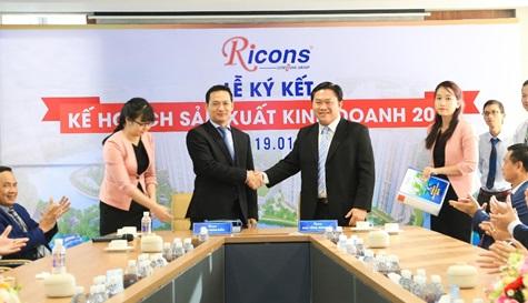 Giữ đà tăng trưởng, Ricons tự tin bứt phá trong năm 2019