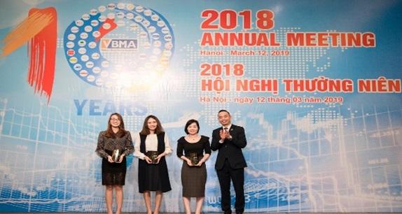 """MSB đoạt giải thưởng """"Nhà tạo lập thị trường trái phiếu chào giá tốt nhất"""" 2018"""