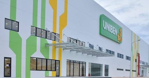 UNIBEN khánh thành thêm một nhà máy thực phẩm hiện đại tổng vốn đầu tư 1.000 tỷ đồng