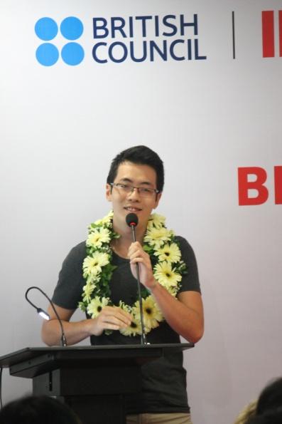 img20150901150602385 Giành giải IELTS Đông Á, chàng trai Việt bỏ Y theo Tâm lý học