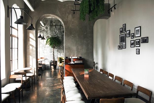 Một số không gian của quán The Coffee House