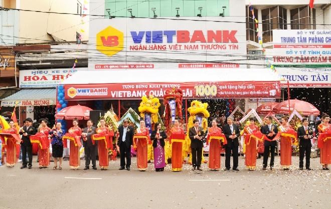 Vietbank khai trương chi nhánh mới tại Quảng Ngãi