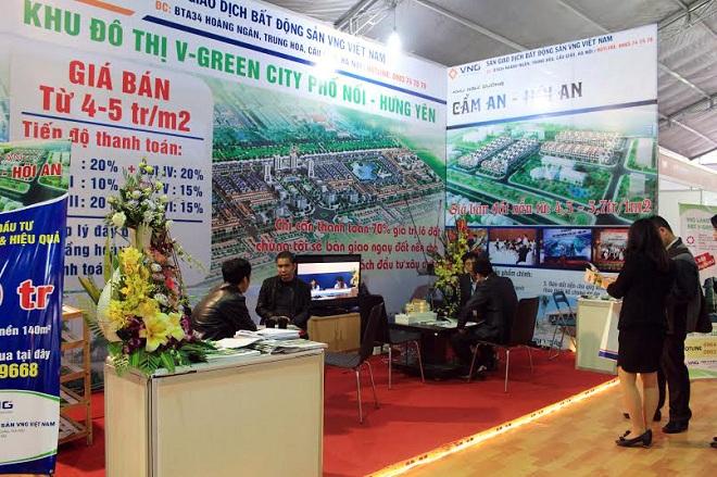 VNG Land chào bán đất nền 5 triệu/m2 tại hội trợ triển lãm Vietbuild 2015