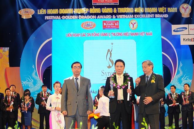 Syrena Việt Nam vinh dự nhận giải thưởng thương hiệu mạnh Việt Nam 2014