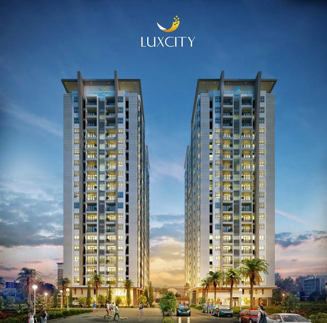 Phối cảnh dự án Khu căn hộ thương mại cao cấp Luxcity
