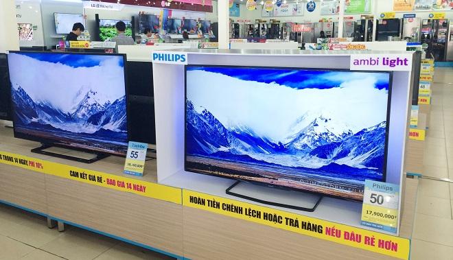 Sự trở lại ấn tượng của TV Philips