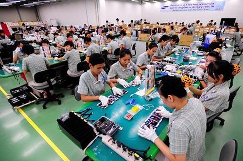 Samsung là mô hình nhà máy duy nhất sản xuất điện thoại theo quy trình khép kín