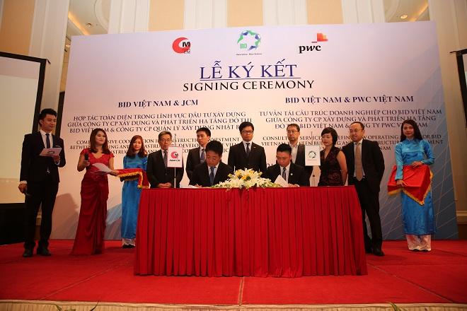 BID Việt Nam ký kết hợp tác toàn diện với hai đối tác ngoại