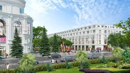 Vincom Shophouse Hải Phòng nằm kề bên TTTM Vincom Lê Thánh Tông, đã khai trương vào đầu tháng 10 vừa qua.