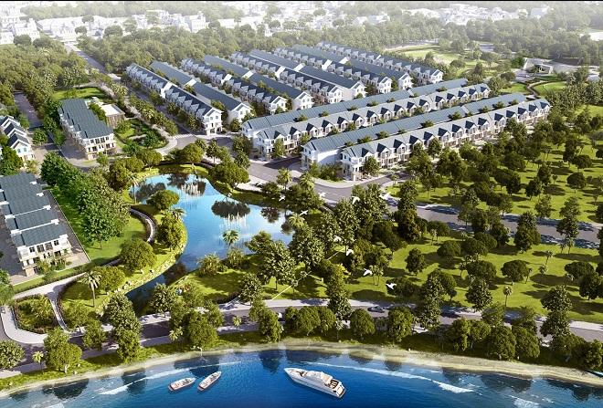 Khu Nhà phố biệt lập an ninh Park Riverside với mức giá chỉ từ 18 triệu đồng/ m2 sở hữu đất có luôn nhà.