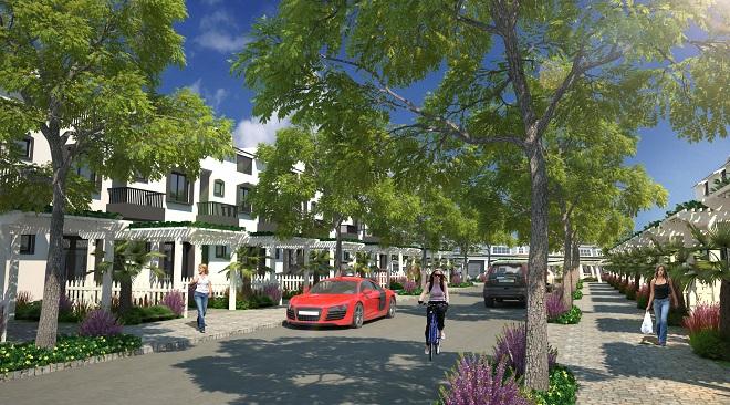 LDG Group mở bán nhà phố xây sẵn