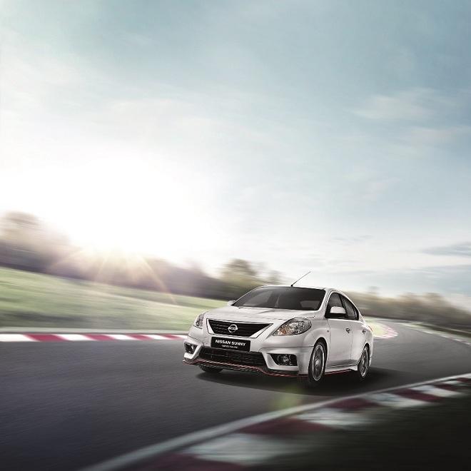 Nissan Sunny trở nên hoàn toàn mới lạ với bộ phụ kiện Nismo Aerokit
