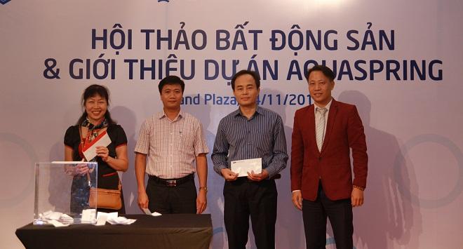 Chung cư Aquaspring chính thức ra mắt tại Hà Nội