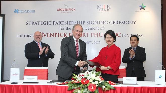 M.I.K Land độc quyền phát triển dự án Mövenpick Resort Phú Quốc