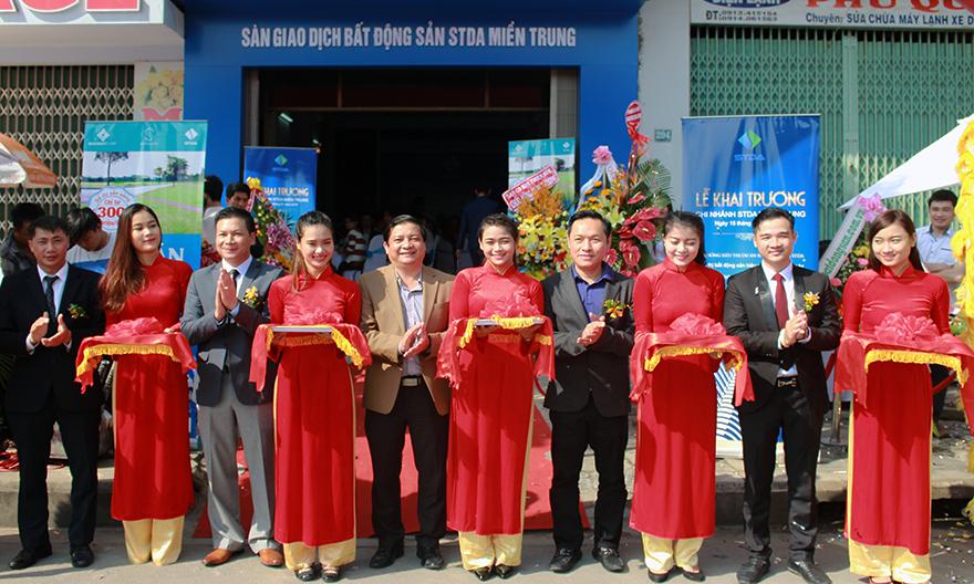 Khai trương Hệ thống Siêu thị dự án Bất động sản STDA miền Trung