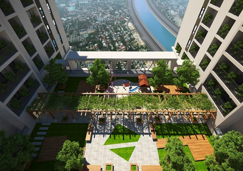 Five Star Garden hấp dẫn khách hàng với vườn xanh tầng 25