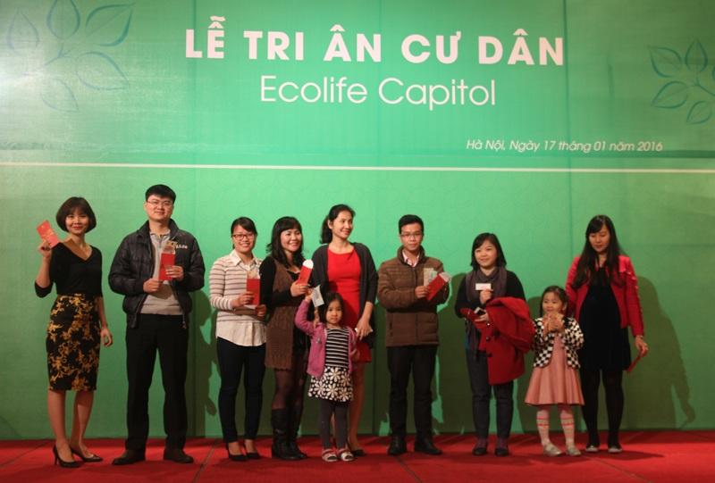 Chủ đầu tư Thủ đô Invest tặng nhiều quà ý nghĩa đến các cư dân tương lai của EcoLife Capitol.