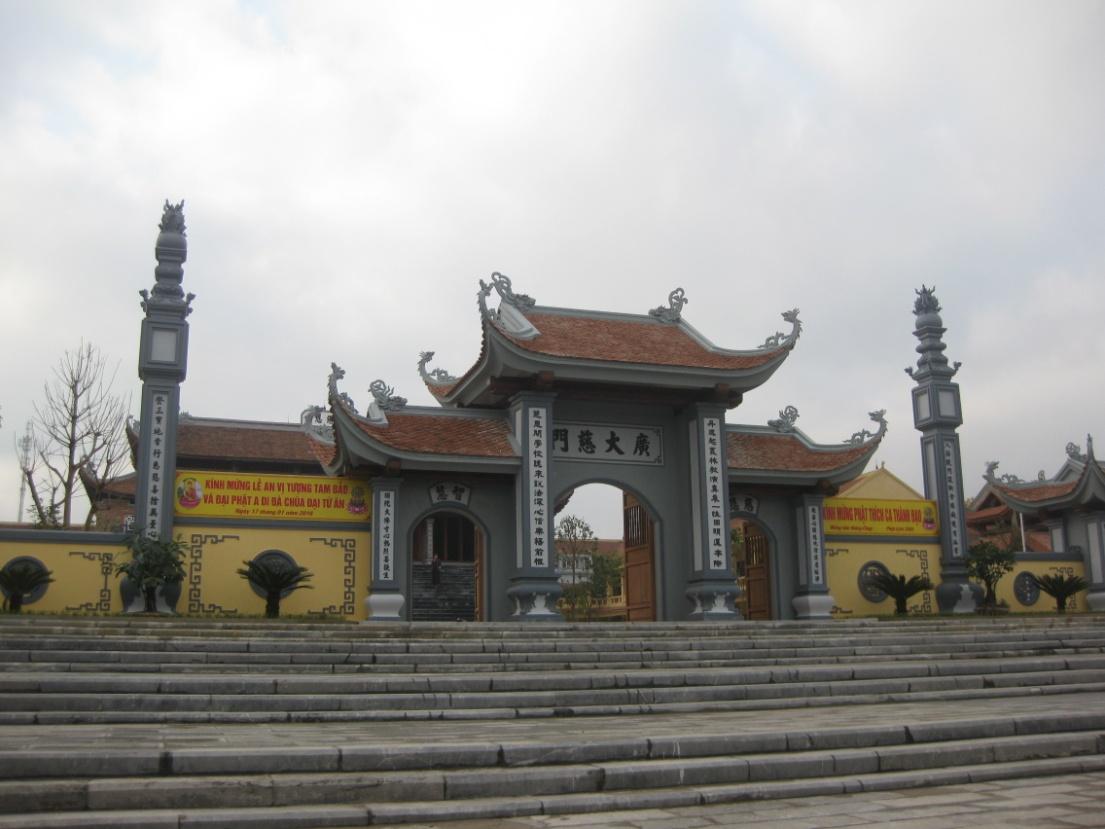 Chùa Đại Từ Ân – Trường Trung cấp Phật học trong khuôn viên 3 hecta tọa lạc ngay trung tâm dự án.
