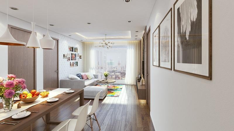 Các căn hộ tại đây được thiết kế thông minh giúp tận dụng được ánh sáng và gió tự nhiên.