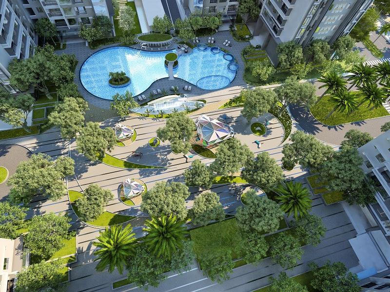 STDA chính thức phân phối khu Sapphire dự án Goldmark City