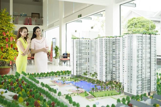 """Ngọc Hân hài lòng với ngôi nhà """"xanh"""" tại TP.HCM"""