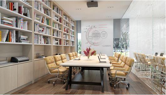 Business Centre được cung cấp đầy đủ trang thiết bị văn phòng, sẵn sàng cho buổi họp. Những không gian nhỏ hơn cũng phù hợp cho nhu cầu nghiên cứu riêng hoặc lớp học nhóm cho các bé.