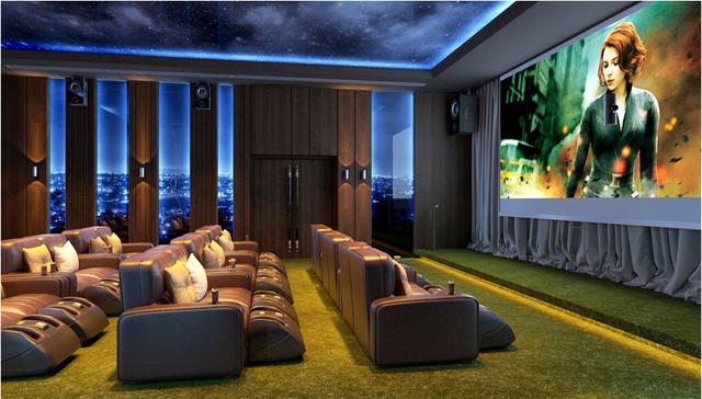 Rạp chiếu phim phong cách ngoài trời duy nhất tại Việt Nam có thể linh hoạt thành phòng hát Karaoke