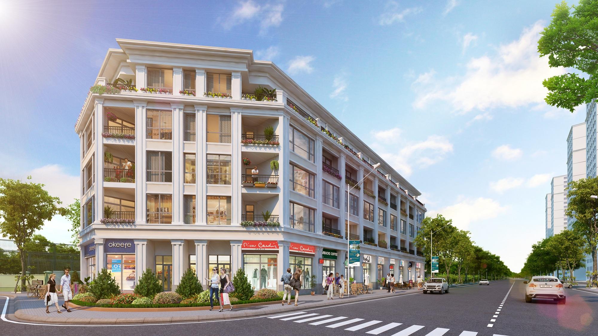 Shophouse The Boutique – Times City: Giải pháp kinh doanh từ mô hình truyền thống