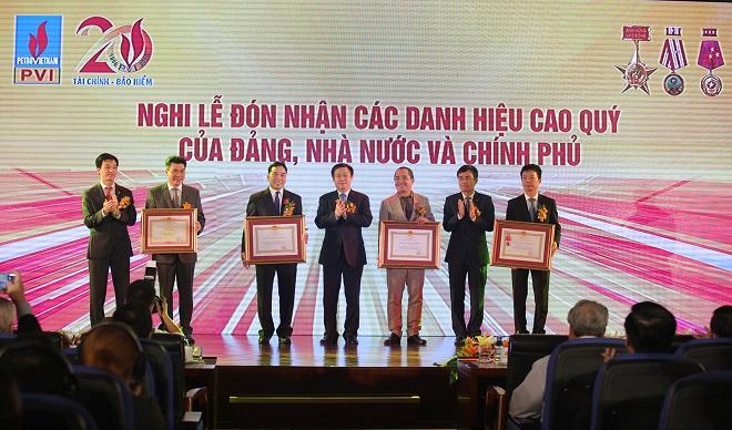 Lễ kỷ niệm 20 năm thành lập PVI (1996-2016)