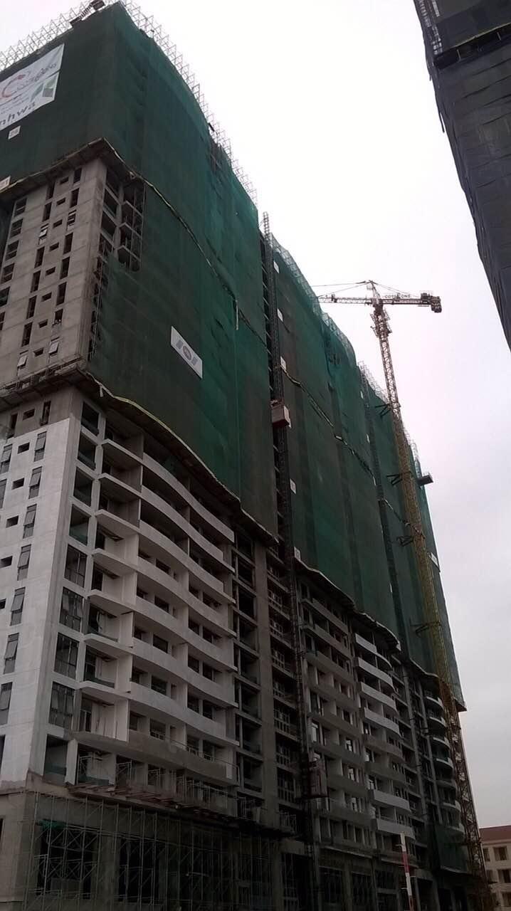 Dự án Tràng An Complex đang hoàn thiện từng ngày