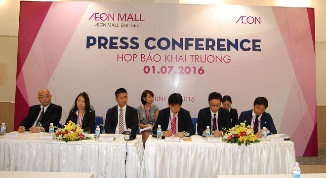 Trung tâm mua sắm Aeon Bình Tân sẽ chính thức mở cửa từ ngày 01/07/2016
