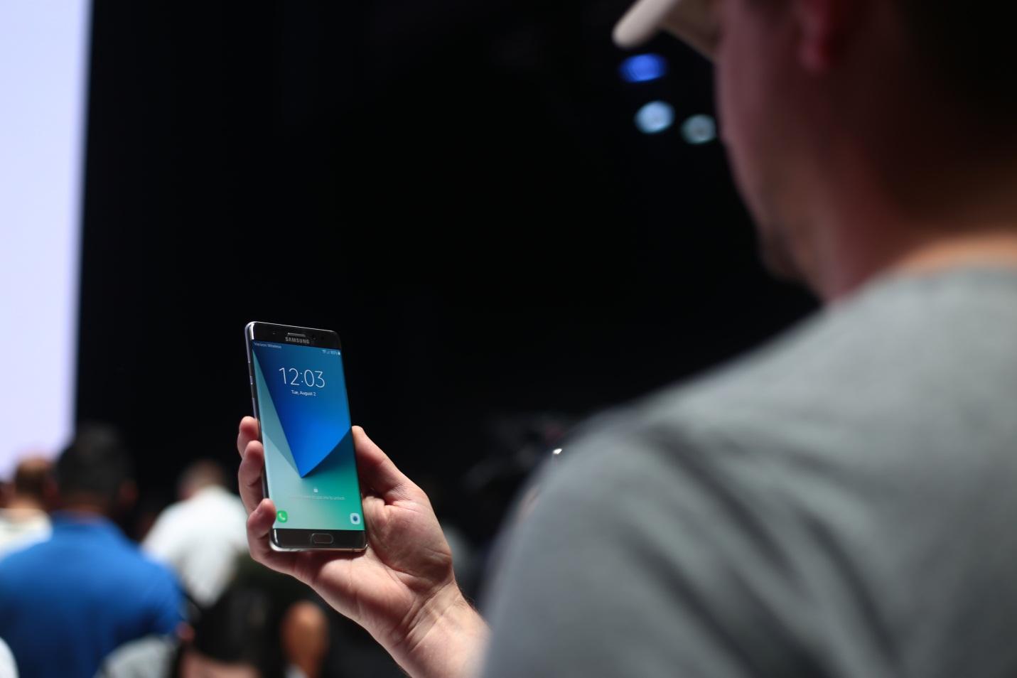 7 tính năng hấp dẫn nhất trên Galaxy Note7