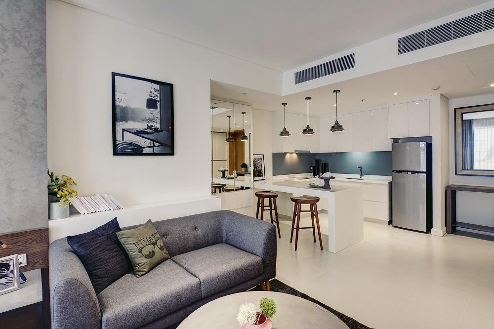 Cận cảnh căn hộ studio và 2 phòng ngủ tại Gateway Thao Dien