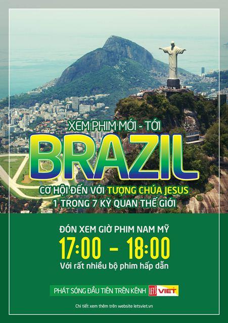 Xem phim truyền hình Nam Mỹ được đi du lịch Brazil miễn phí