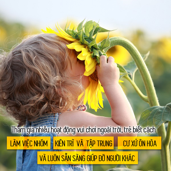 6 lợi ích không ngờ từ việc cho trẻ vui chơi ngoài trời - Ảnh 5