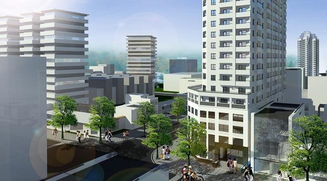 Thay đổi nhà thầu, dự án Diamond Blue 69 Triều Khúc đẩy nhanh tiến độ xây dựng