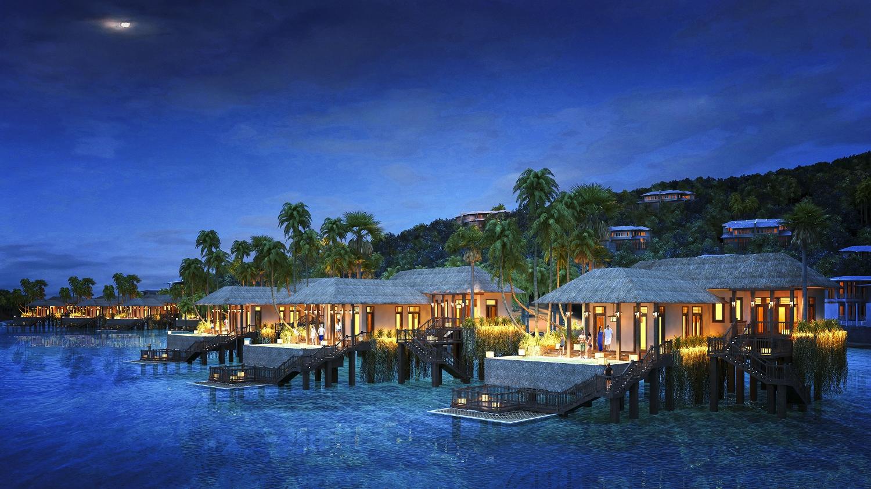 Thiên đường nghỉ dưỡng hai mặt biển hiếm có trên thế giới