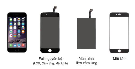 Dịch vụ ép kính iphone 6/6 plus