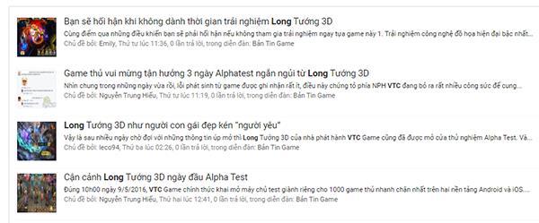 """Cộng đồng Việt """"chao đảo"""" với bản Alpha Test của Long Tướng 3D"""