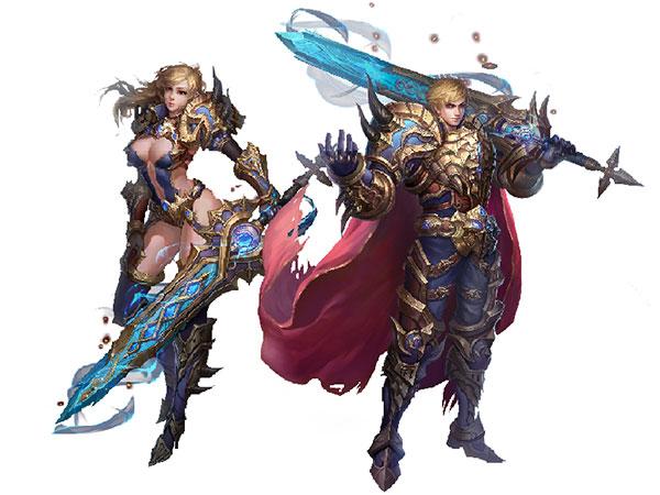 Tìm hiểu 3 lớp nhân vật của game nhập vai 3D Chúa Nhẫn Ngoại Truyện