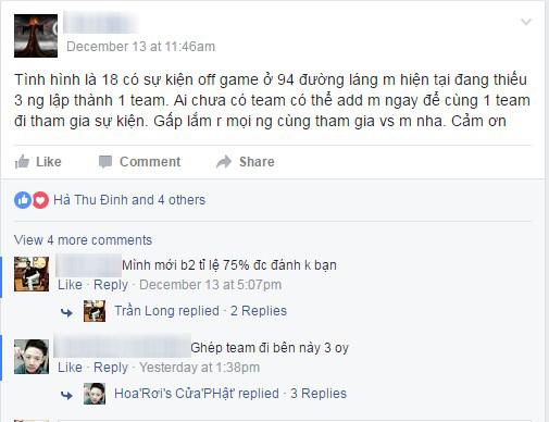 """Cộng đồng game thủ Việt """"nháo nhào"""" tuyển thành viên đánh giải 1 tỷ"""