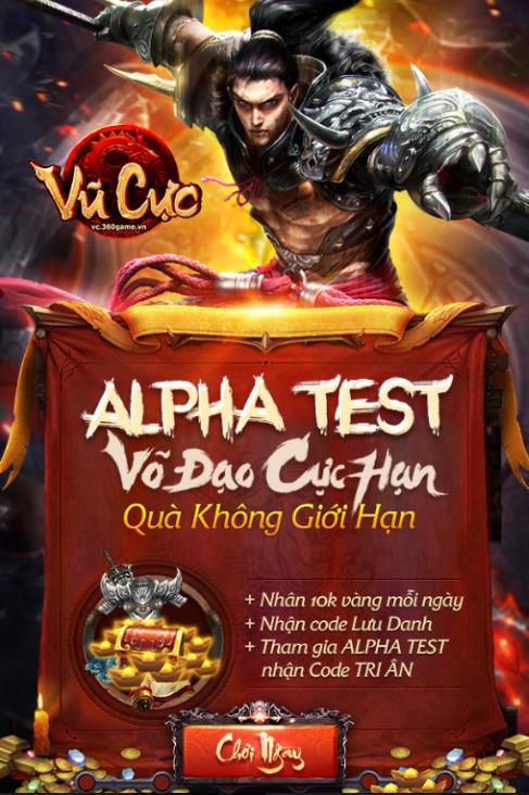 Trải nghiệm võ học cực hạn cùng bản Alpha Test Vũ Cực