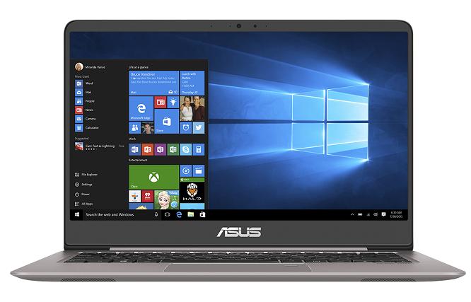 Viền màn hình siêu mỏng là một trong những điểm sáng về thiết kế của Asus Zenbook UX410