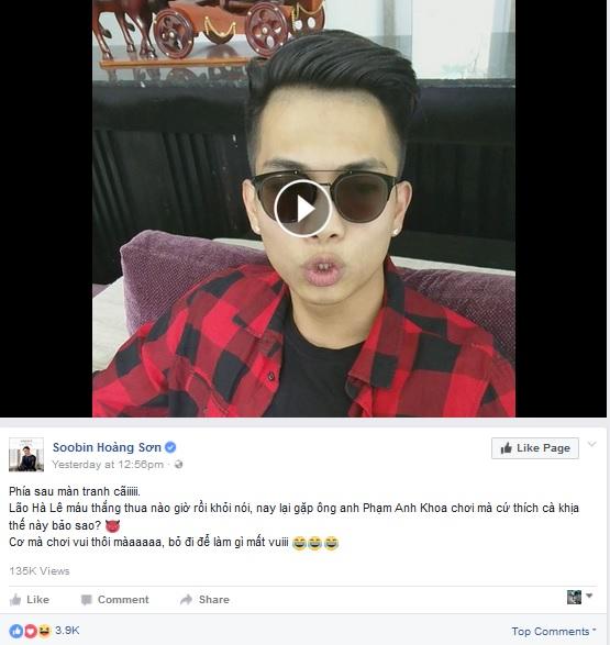 Hà Lê bắn rap thách đấu Phạm Anh Khoa gây sốt giới game thủ