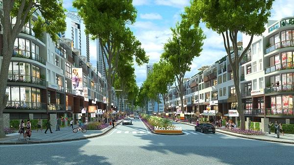 Mon Street – Nhà phố thương mại đón đầu thị trường Tây Nam Hà Nội