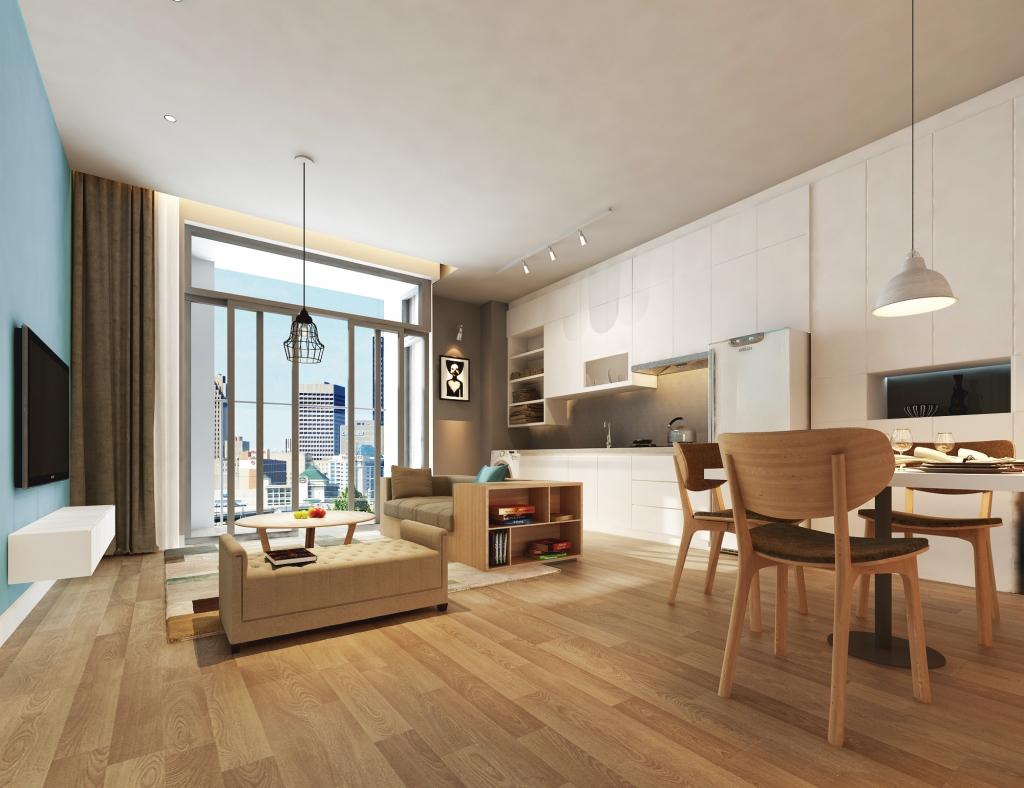 Tiện nghi và an toàn – Hai điểm được ưa thích khi chọn mua chung cư