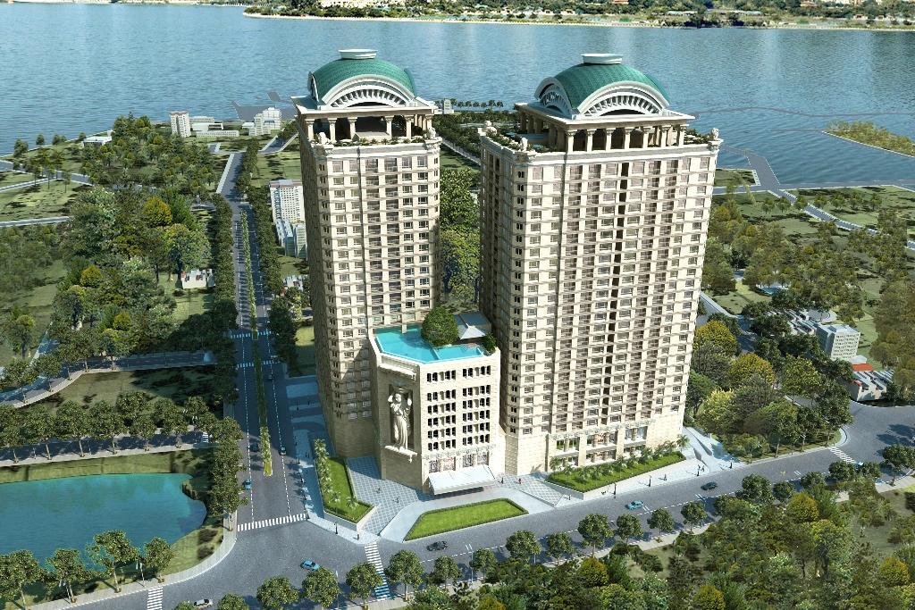 Dự án D Le Roi Soleil là một lựa chọn thích hợp cho việc mua căn hộ tiện ích có vị trí vàng tại Thủ đô